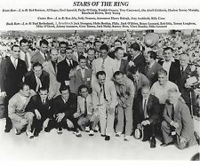 STARS OF THE RING 8X10 PHOTO BOXING PICTURE TUNNEY CONN DEMPSEY WITH NAMES