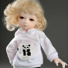 "Dollmore 1/6 Bjd 10"" Clothes New Dear Doll Size - Moi Bear Hood T (White)"