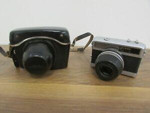 Vintage Werra 1 Film Camera with Carl Zeiss Jena Tessar 2,8/50 Lens + Case