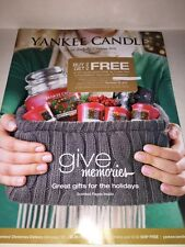 YANKEE CANDLE Holiday 2015 Catalog Christmas Holiday Fragrances Scented Discount