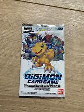 Digimon TCG 2020 Promotion Promo Pack Ver. 0.0 English Sealed