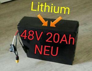 E-Bike Akku 48V 20Ah 960Wh Batterie Li-Ionen Elektrofahrrad Akku
