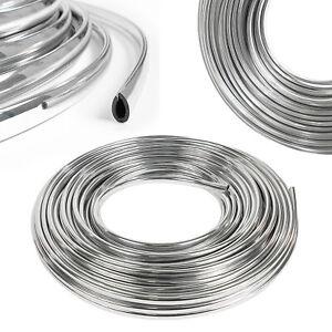 Autokantenschutz 1€/m Zierleiste 5m Chrom Türkantenschoner Silber Schutzleiste