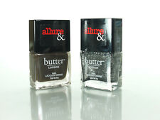 2 PCS BUTTER LONDON  NAIL LACQUEr allure and IN; disco nap+lust or must?