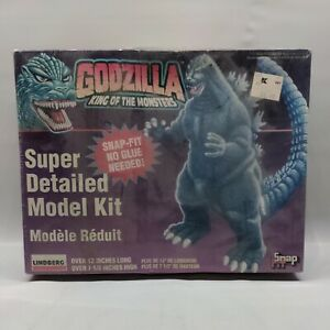 Godzilla King Of The Monsters Model Kit Lindberg 1995 Factory Sealed Snap Fit