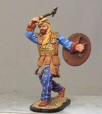 Painted Tin Toy Soldier Persian with an axe 54mm 1/32