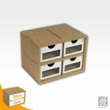 HobbyZone - MWS - Schubkasten Modul x 4 (Drawers Module x 4) - NEU - OMs01a