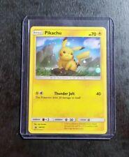 Pikachu SM183 Holo Black Star Promo Pokemon Card NM