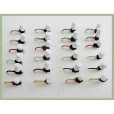 Trote Mosche 12 Pack Lepri Ear /& bianco scelta di Taglie Reggicalze Cicalini