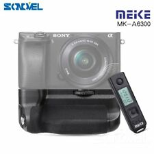 Meike MK-A6300 PRO Battery Grip Holder with Remote Control for Sony A6300 A6000