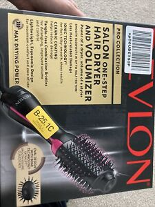 Revlon Salon One-Step Hair Dryer and Volumizer - Pink. New- Never Opened.