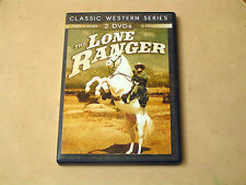 THE LONE RANAGER - 2 DVD DISC SET - 12 EPISODES - PRE-OWNED - GOOD COND.