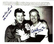 Al Kaline & Mickey Lolich (MVP)  celebrating the Tigers 1968 World Series WIN