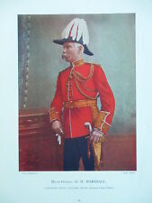 1900 MAJOR GENERAL G H MARSHALL ROYAL ARTILLERY BOER WAR INSTRUCTOR SHOEBURYNESS