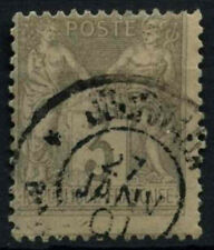 France 1877-90, 3c Grey Used #D50440