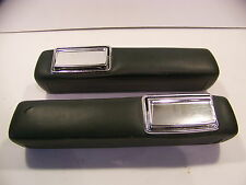 "1966 67 68 69 70 DODGE PLYMOUTH B BODY 9"" GREEN ARM RESTS ROAD RUNNER SUPER BEE"