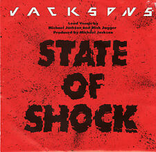 THE JACKSONS - STATE OF SHOCK- PIC SLV  - MICHAEL JACKSON