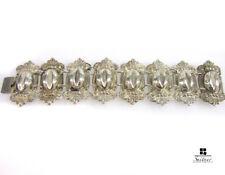 imposantes Armband aus Silber hohl verbödet Jugendstil / Art Nouveau antik