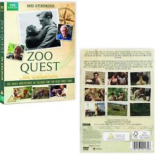 ZOO QUEST in COLOUR (1954 2016) David Attenborough TV Season Series - NEW DVD UK