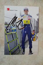 "Marcus Ericsson ""Sauber 2015"" Autogramm signed 10x15 cm Postkarte"
