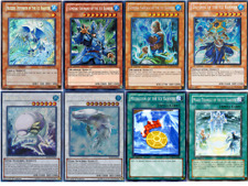 Yugioh Ice Barrier Deck 44 Cards Dai-Sojo Medallion White Aura Whale Free Pack!