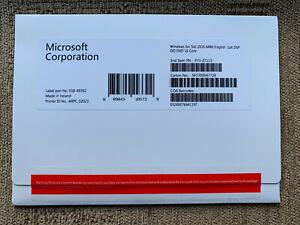 Windows Server 2016 Standard 64Bit English OEI DVD 16 Core - P73-07113