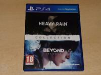 The Heavy Rain & Beyond Two Souls Collection PS4 Playstation 4 **FREE UK POST**