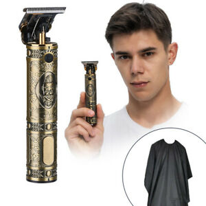 Profi Haarschneidemaschine Haarschneider Bart Trimmer Hair Clipper USB+Wai Stoff