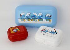 Tupperware 2x MINITWIN Brotdose Pets lila Lunchbox Snackbox