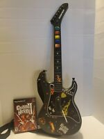 PS2 Guitar Hero Kramer Striker Wireless Guitar with Strap, No Dongle (w/ GH 2)