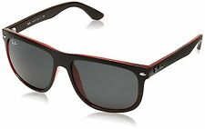 Ray-Ban RB4147 617187 Black/Red Frame Grey Classic 60mm Lens Sunglasses