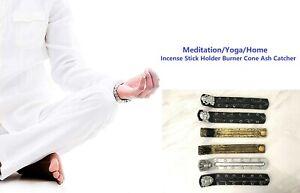 Buddha/Dragon Incense Stick Holder Burner Cone Ash Catcher Meditation/Yoga/Home
