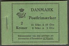 DENMARK (HRE6) 1929 Rundskudagen Booklet, VF