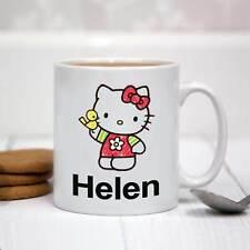Personalizado Taza De Cerámica Blanca-Hello Kitty