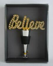 THIRSTYSTONE Believe - Bling Bottle Stopper