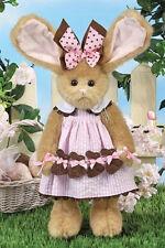 "14"" BITSY & BUNNY*Bearington Stuffed Teddy*Rabbit*NEW*NWT*Easter*Spring*420445"