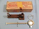 Vintage Redding Model #1 Powder & Bullet Scale with Box (Dark Brown Finish) LN