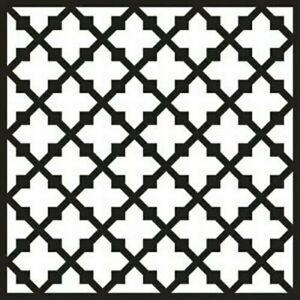 """That Special Touch Mica Mask - FRETWORK 15cm x 15cm (6"""" x 6"""")"""