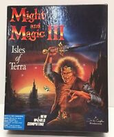 "Might and Magic III Isles of Terra IBM/ PC 5.25"""