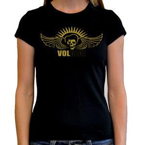 Camiseta chica mujer VOLBEAT t shirt women girl hard rock heavy metal metalhead