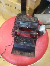 ICOM IC-F5061D VHF Mobile Radio Transceiver Digital w/ HM-148T Platt Hard Case