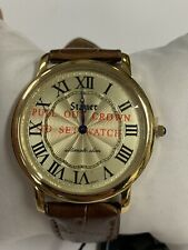 Mens Stauer Ultimate Slim Gold Plate 18902 NEW WATCH
