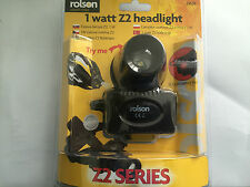 Rolson 61638 Super Bright 1w Z2 Headlight For  Cyclists- Work-Travel or Camping