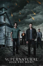 SUPERNATURAL - JOIN THE HUNT POSTER - 22x34 SEXY HOT TV SHOW CHURCH 13641