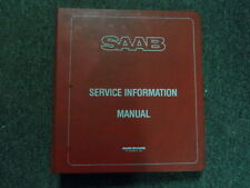 1983 1984 Saab 99 900 M84 Service Information Supplement NO.4 Manual BINDER EDI