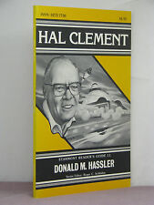 1st,signed by author,Hal Clement by Donald M Hassler, Starmont Reader's Guide 11