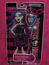"MONSTER HIGH NEW ~  ~"" SPECTRA VONDERGEIST "" OUTFIT AND ACCESSORIES!!"