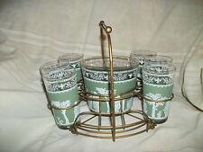 Wedgwood Jeannette hellenic tumblers w/ice bucket