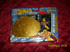 WWE RUMBLERS CHAMPIONS REY MYSTERIO WITH US CHAMPIONSHIP PLAYCASE ONLY AT TARGET