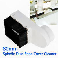 Dust Shoe Cover Cleaner Upgraded For 80mm Spindle CNC Engraving Milling Machine